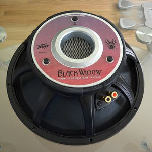 PEAVEY BLACK WIDOW 1502-8 Super Structure Low Frequency Pro audio speaker NEW for Sale in Woodinville, WA