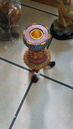 Indian candle holder for Sale in Kingsport, TN