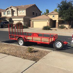 2014 Cequent Single Axle Trailer for Sale in Queen Creek, AZ
