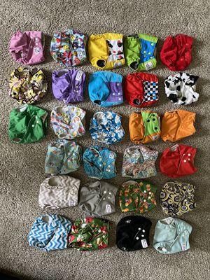 Cloth Diaper Lot Used for Sale in Sanford, FL