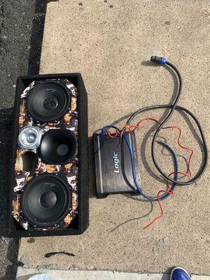Chuchero and logic amp for Sale in Secaucus, NJ