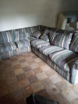 Huge sectional couch $150 or $200 delivery for Sale in Richmond, VA