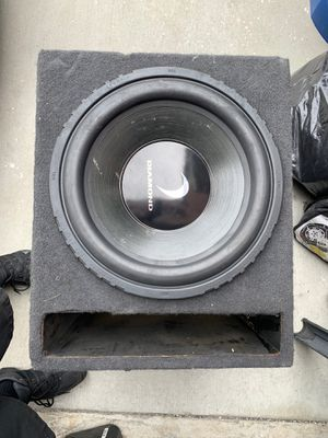 15 inch diamond audio 2000watt max sub for Sale in Cypress, CA
