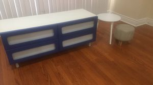 Kids Drawer and table /chair combo for Sale in Chicago, IL