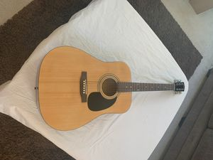Acoustic Guitar - SA100 Case included Squirt by Fender for Sale in North Las Vegas, NV