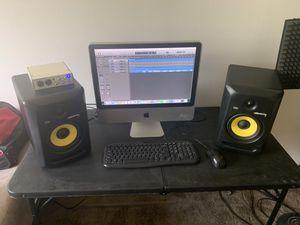 Studio equipment. iMac, 2 rocket 6, audio interface etc.... for Sale in Taylor, MI