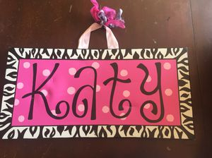 Girls pink room decor, Letters, Hello Kitty for Sale in Richland Hills, TX