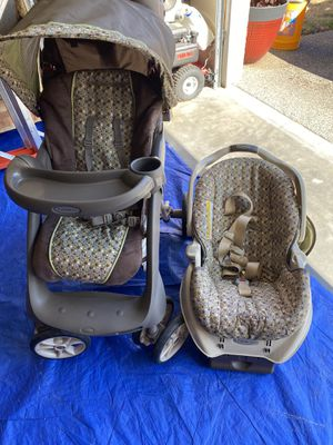 Baby stroller and car seat for Sale in Spanaway, WA