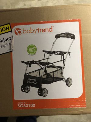 NEW Baby trend double stroller CADDY for Sale in Doraville, GA