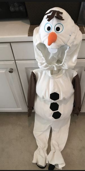 NEW Disney Olaf costumes Size 4 $30 for Sale in Azusa, CA