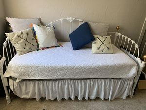 Trundle bed / day bed with twin mattresses for Sale in San Diego, CA