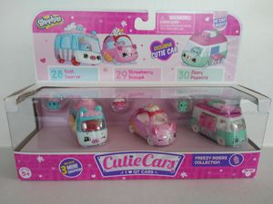 Sealed Shopkins cutie car freezy riders collection for Sale in Tampa, FL