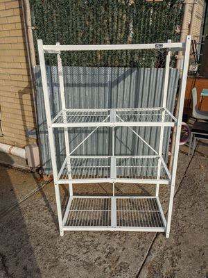 Origami 4 Shelf large Storage rack (collapsible) for Sale in Queens, NY
