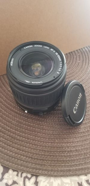 Canon camera lens photography for Sale in Bakersfield, CA