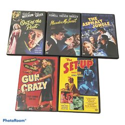 Film Noir Classics Collection: Volume 1 [5-Disc DVD Set] (See Pictures) for Sale in New York,  NY