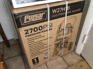 Pulsar pressure washer 2700 psi nib for Sale in Highland Beach, FL