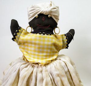 Antique Black Americana Toaster Cover Doll for Sale in Leopold, IN