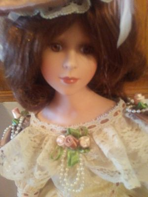 24 inch Victorian Porcelain Doll by Show Stoppers for Sale in Grove City, OH