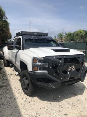 after market parts for 2019 3500 chevy bumper grill top rack window for Sale in Hollywood, FL