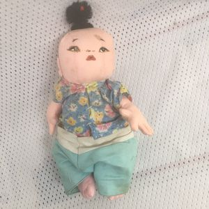 Antique Asian cloth doll collectible vintage for Sale in Bethlehem, PA