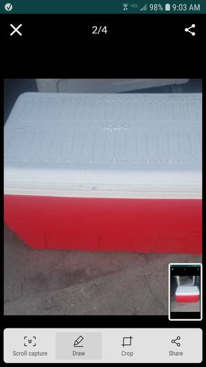 Cooler igloo ice chest for Sale in Tracy, CA