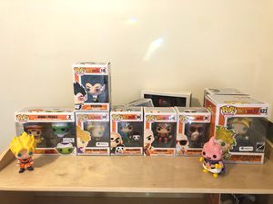DRAGON BALL Z POP! VINYLS for Sale in Queens, NY