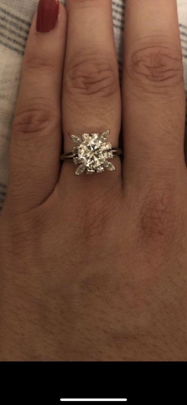 2 1/2 carat diamond ring. Appraised over 12K