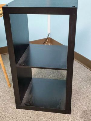 Black Storage Cube Side Table for Sale in Winter Park, FL