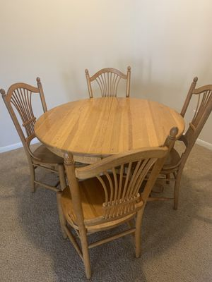Kitchen Table with 4 chairs for Sale in Austin, TX
