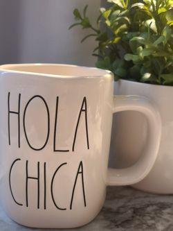 Hola Chica Mug for Sale in Fontana,  CA