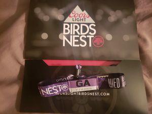 Birds Nest Ticket Wednesday Night for Sale in Phoenix, AZ