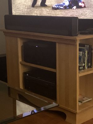 Hand made solid wood TV stand for Sale in Dighton, MA