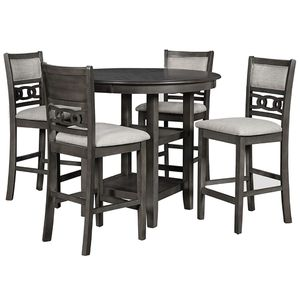New Classic Furniture Gia 5 piece Counter Dining Set Gray for Sale in Fresno, CA