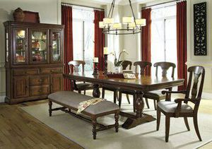 #D700 Leximore dinner table by Ashley Furniture for Sale for sale  Canton, GA