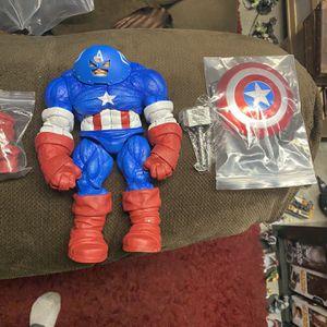 Marvel Legends (custom) Worthy Captain America Juggernaut for Sale in Lemon Grove, CA