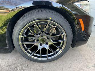 "Mercedes Bmw Honda Lexus 18"" Hyper Blk Euro Style New Rims Tires Set for Sale in Hayward,  CA"