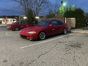 Sealing my 1995 Honda Civic vitec asking for 5000 obo texted me car is in great condition I just want something new for Sale in Winston-Salem, NC