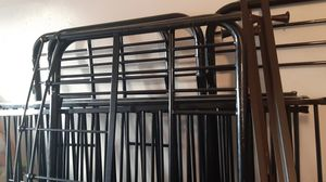 2 twin be bunk bed set no mattresses and no screws for Sale in Hayward, CA