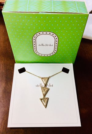 Stella and Dot Necklace *new* for Sale in Lithia, FL