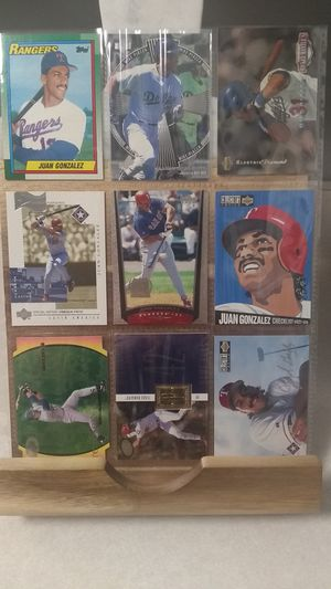 (Lot ANY1) 9 Jaun Gonzales Baseball Cards - MLB Trade Sports Cards for Sale in Nashville, TN