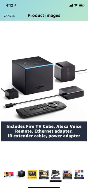 Fire TV Cube for Sale in Queens, NY