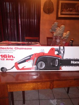 Homelite 16 in. 12 Amp Electric Chainsaw for Sale in Fontana, CA