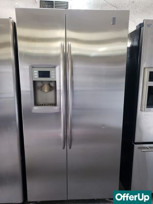 💎💎💎Stainless Steel GE Refrigerator Fridge Free Delivery #1157💎💎💎 for Sale in Chino, CA