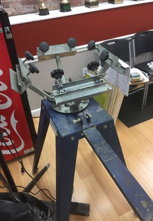 Screen printer for Sale in Worcester, MA