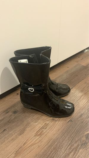 Black Paten Leather boots for Sale in Park Ridge, IL