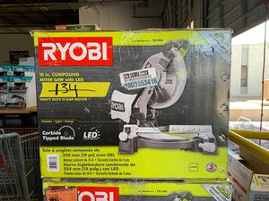 RYOBI 10 in. Compound Miter Saw with LED for Sale in Phoenix, AZ