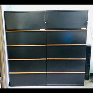 3 Metal Filing Cabinets for Sale in Los Alamitos, CA