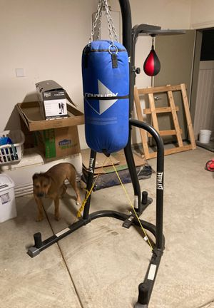 Everlast duo set heavy bag and speed bag for Sale in Ontario, CA
