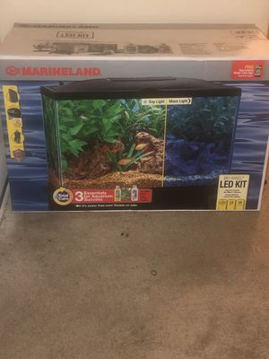 Aquarium kit with life time warranty for Sale in Washington, DC