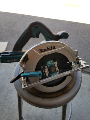 Makita skill saw v36 lithium brushless. for Sale in Escondido, CA